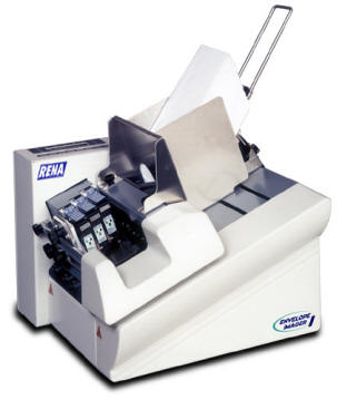 Rena Envelope Imager I,address printers,envelope printers,usps postal barcode printers,postcard printers,address printer,envelope printer,postcard printer