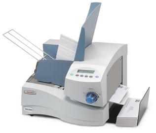 postcard labeling machine
