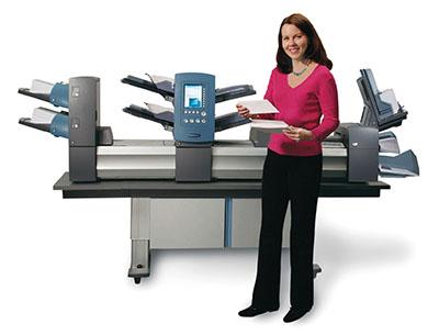 paper folder inserter machine