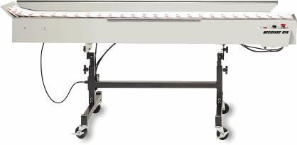 Accufast 6FV,printer conveyors,address printer conveyors,conveyor stackers,bump turn,sorting conveyors,vacuum conveyors,accufast converyors
