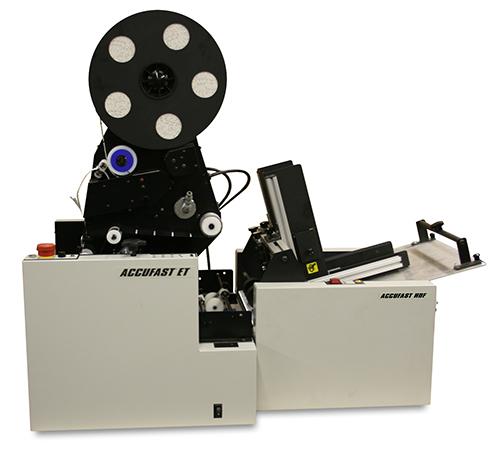 Accufast ET/R Tabletop Tabbing Machine