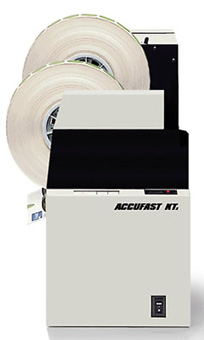 Accufast KT2,tabbing machines,mail tabbers,mail tabbing,tabbers,used tabbers,tabletop tabber,wafer seal machines,mailing tabs,wafer seals