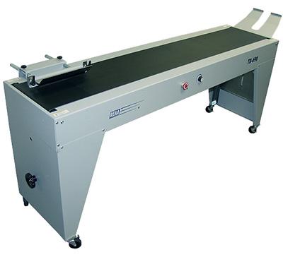Rena TB-690,printer conveyors,address printer conveyors,conveyor stackers,bump turn,sorting conveyors,vacuum conveyors,rena converyors